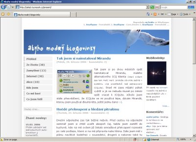 Internet Explorer 7.0 Beta 2 Preview